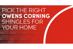 Owens Corning Shingles Roof Repair & Replacement Company in Charleston, SC Wando Roofing